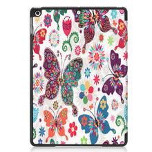 Load image into Gallery viewer, AMZER Colored Drawing Horizontal Flip Leather Case With 3-Fold Holder & Sleep/ Wake-up Function for Apple iPad 10.2