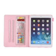 Load image into Gallery viewer, AMZER Glitter Horizontal Flip Leather Case With Holder & Card Slot/ Photo Frame/ Wallet for Apple iPad 10.2