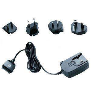 International Travel Charger - With Adapters - amzer