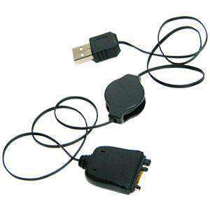 AMZER® USB Retractable Sync Data Cable For Palm Centro 685 - amzer
