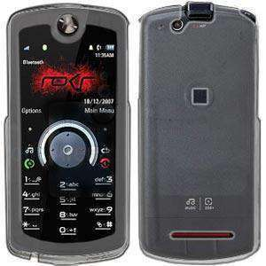AMZER Snap On Crystal Hard Case for Motorola ROKR E8 - Clear - amzer