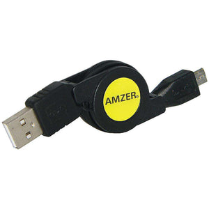 Amzer® Micro USB Retractable Data Cable
