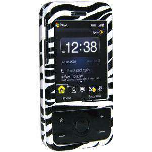 AMZER Snap On Crystal Hard Case for HTC Touch Pro - Zebra Print