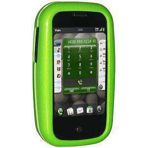 AMZER Polished Snap On Crystal Hard Case for Palm Pre - Neon Green
