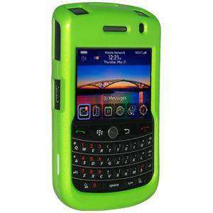 AMZER Polished Snap on Crystal Hard Case for BlackBerry Bold 9650 - Neon Green