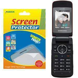 AMZER Kristal Clear Screen Protector for Samsung Myshot 2 R460