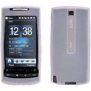 AMZER Shockproof Rugged Silicone Skin Jelly Case for HTC Pure - Clear