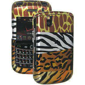 AMZER Snap On Hard Case for BlackBerry Bold 9650 - Multi-Animal Print