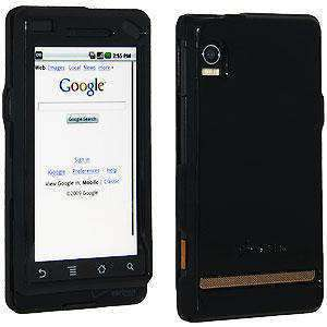 AMZER Snap On Crystal Case for Motorola Droid A855 - Carbon Black