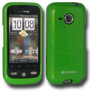 AMZER Polished Snap On Crystal Hard Case for HTC DROID Eris - Green