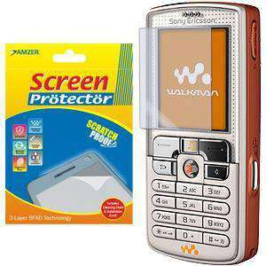AMZER Kristal Clear Screen Protector for Sony Ericsson W800i