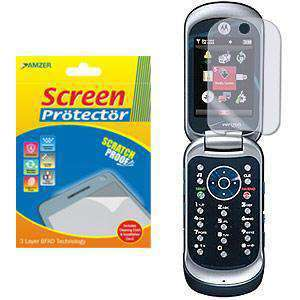 AMZER Kristal Clear Screen Protector for Motorola Rapture VU30