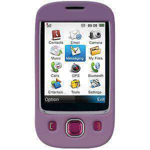 AMZER Snap on Crystal Hard Case - Polished Purple - amzer