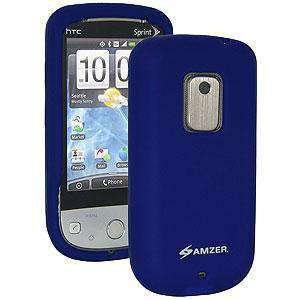 AMZER Silicone Skin Jelly Case for Sprint HTC Hero - Blue