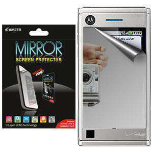AMZER Kristal Mirror Screen Protector for Motorola DEVOUR A555