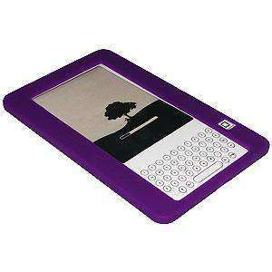 AMZER Silicone Skin Jelly Case for Amazon Kindle 2 - Purple
