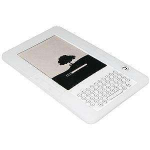 AMZER Silicone Skin Jelly Case for Amazon Kindle 2 - Lilly White