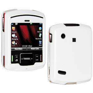 AMZER Snap On Crystal Hard Case for Motorola Hint QA30 - Polished White