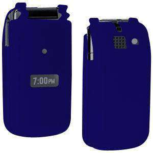 AMZER Silicone Skin Jelly Case for Sanyo Mirro SCP-3810 - Blue - amzer