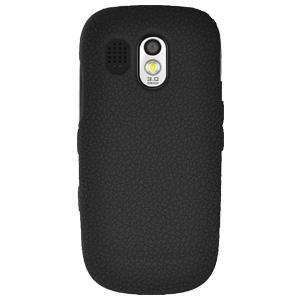 AMZER Silicone Skin Jelly Case for Samsung Caliber R850 - Black - amzer