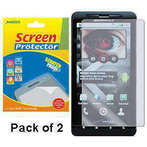 Kristal Clear Screen Protector for Motorola Droid X MB810 - 2 Pack