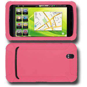 AMZER Rugged Silicone Skin Jelly Case for Dell Streak - Baby Pink