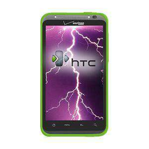 AMZER Silicone Skin Jelly Case for HTC ThunderBolt ADR6400 - Green