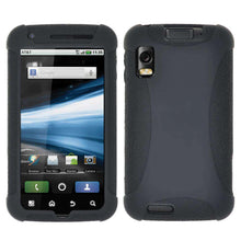 Load image into Gallery viewer, AMZER Silicone Skin Jelly Case for Motorola ATRIX 4G MB860 - Black - amzer