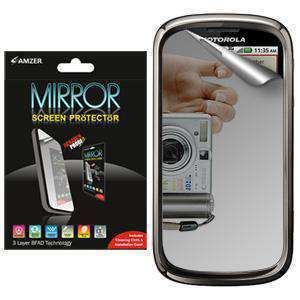 AMZER Kristal Mirror Screen Protector for Motorola CLIQ 2 MB611