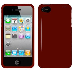 AMZER Injecto Snap On Hard Case for iPhone 4 CDMA - Red