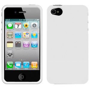 AMZER Injecto Snap On Hard Case for iPhone 4 - White