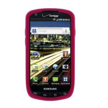 Load image into Gallery viewer, AMZER Silicone Skin Jelly Case for Samsung Droid Charge SCH-I510 - Hot Pink - amzer