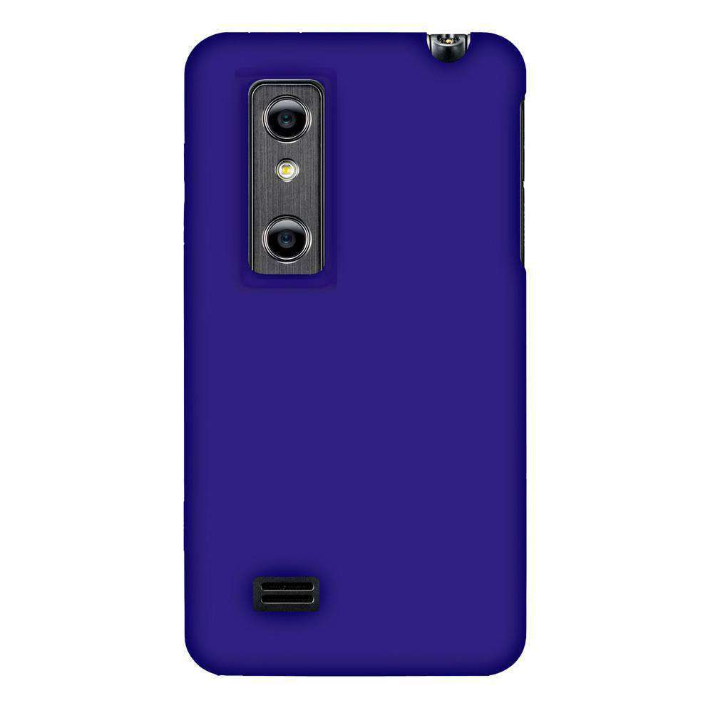 AMZER Silicone Skin Jelly Case for LG Optimus 3D P920 - Blue