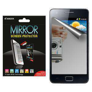 AMZER Kristal Mirror Screen Protector for Samsung GALAXY S II