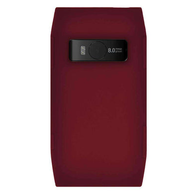 AMZER Silicone Skin Jelly Case for Nokia X7-00 - Maroon Red - amzer