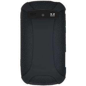 AMZER Silicone Skin Jelly Case for Samsung Admire SCH-R720 - Black - amzer