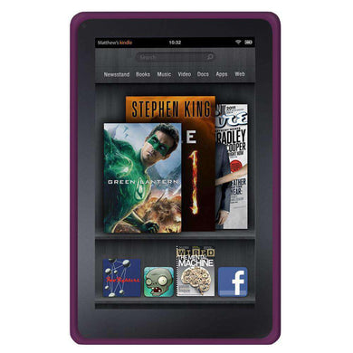 AMZER Shockproof Rugged Silicone Skin Jelly Case for Amazon Kindle Fire