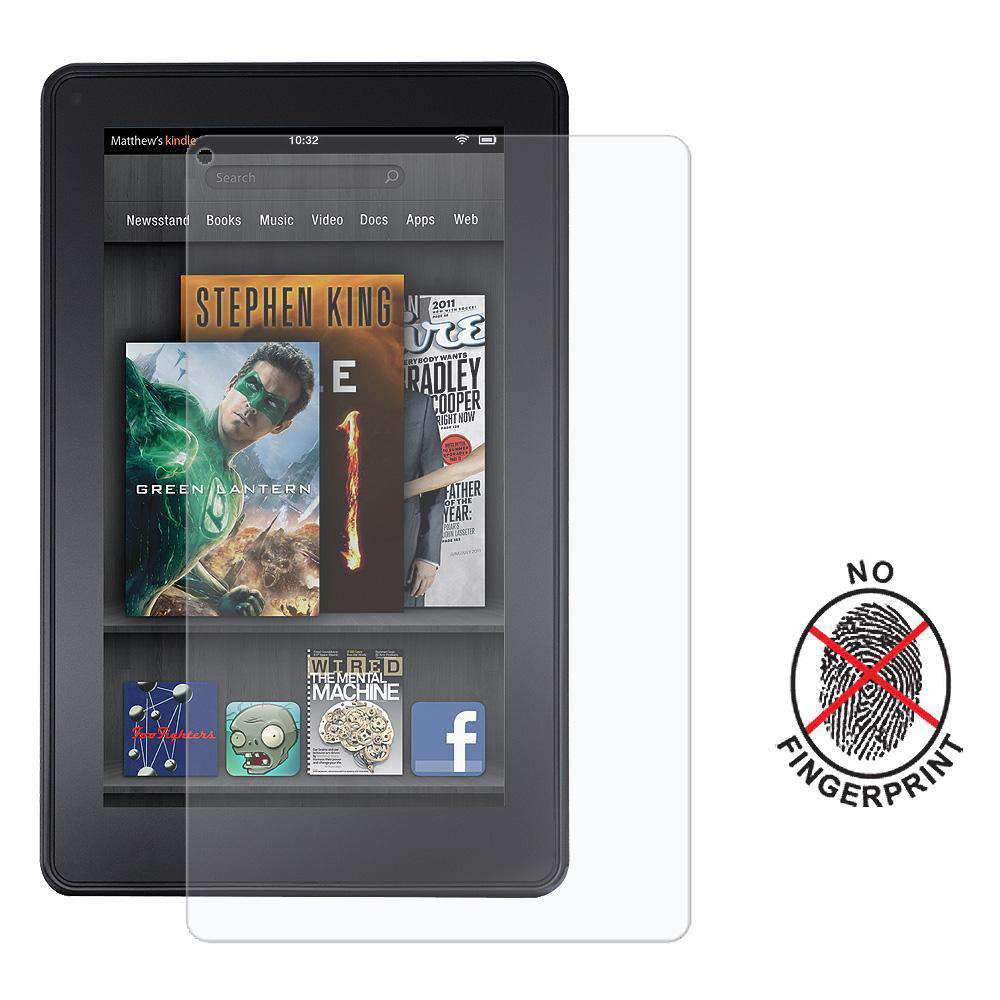 AMZER Kristal Anti-Glare Screen Protector for Amazon Kindle Fire