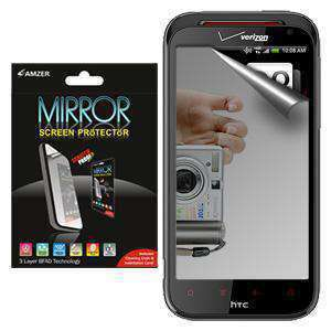 AMZER Kristal Mirror Screen Protector for HTC Rezound