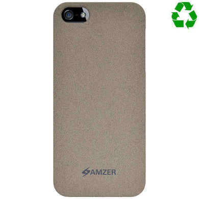 AMZER Organics Snap On Shell Hard Case for iPhone 5 - Sand