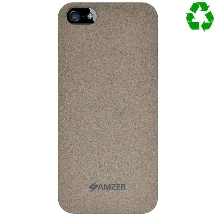 AMZER Organics Snap On Shell Hard Case for iPhone 5 - Sand - amzer