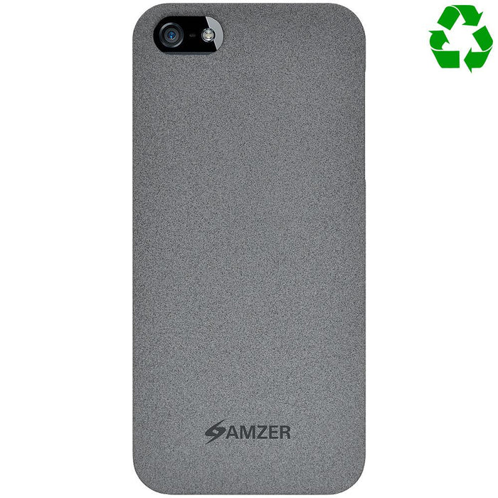 AMZER Organics Snap On Shell Hard Case for iPhone 5 - Slate