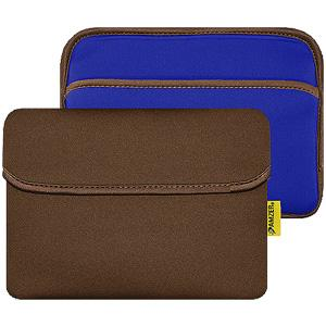 AMZER 8 inch Reversible Neoprene Horizontal Sleeve Pouch Tablet Bag With Pocket