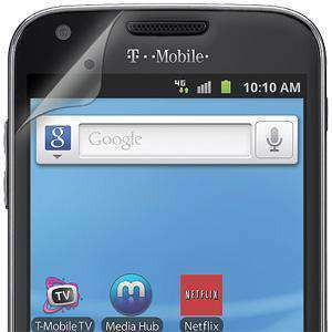 AMZER Shatterproof Screen Protector for Samsung S II SGH-T989 - Front Coverage