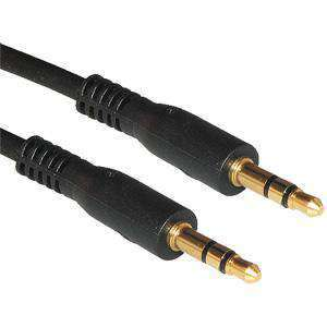 Amzer® 3.5 mm Stereo Auxiliary Cable - 1 ft. - amzer