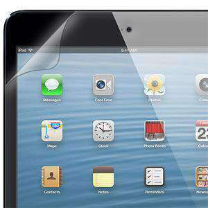 AMZER ShatterProof Screen Protector for Apple iPad mini - Front Coverage - amzer