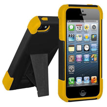 Load image into Gallery viewer, AMZER Double Layer Hybrid Kickstand Case for iPhone 5