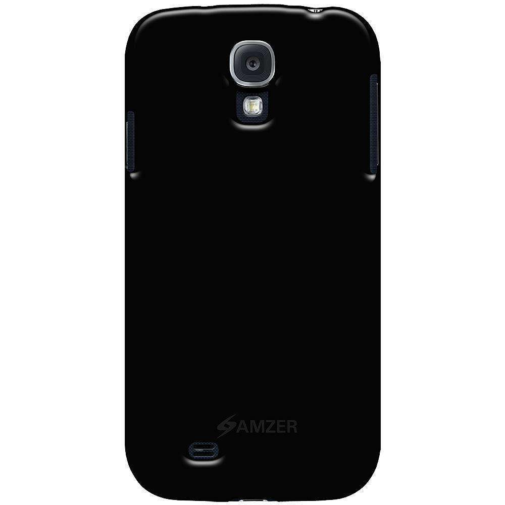 AMZER Translucent Soft Gel TPU Gloss Skin Case for Samsung GALAXY S4 GT-I9500 - amzer