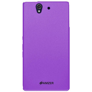 AMZER Ultra Thin Pudding Soft TPU Skin Case for Sony Xperia Z C6602 - amzer