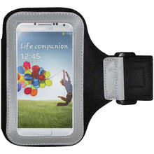 Load image into Gallery viewer, AMZER® Armband - Black for Samsung GALAXY S4 GT-I9500 - amzer